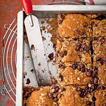Overnight Cherry-Chocolate Coffee Cake