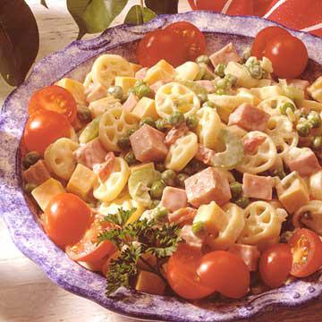 Ham, Cheese and Macaroni Salad