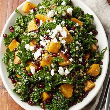 Harvest Lentil Salad