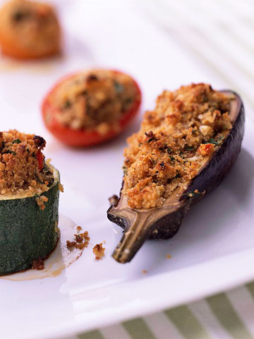 Baked Stuffed Vegetables Provencal