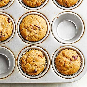 Pick-a-Flavor Honey-Wheat Muffins