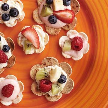 Fruit Toastadas