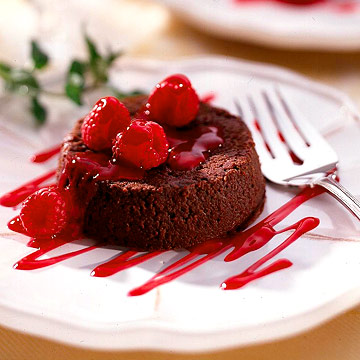 Softhearted Chocolate Cakes
