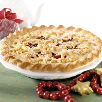 Cranberry-Raspberry Pie