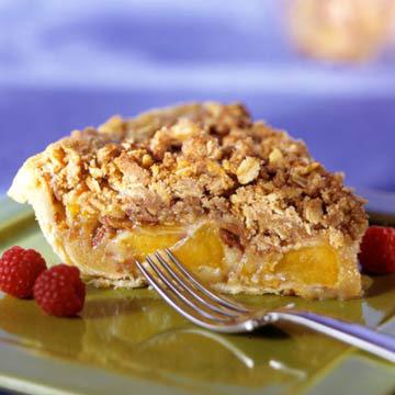 Peach-Brown Butter Tart