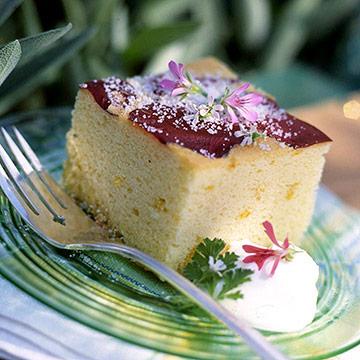 Scented Geranium Cake