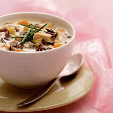 Creamy Velvet Chicken Soup