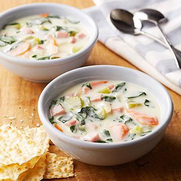 Ham Florentine Soup