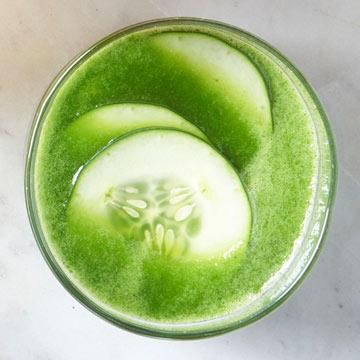 Cucumber-Mint Refresher Recipe by Candace Kumai