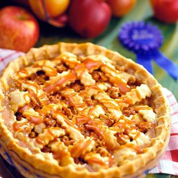 Perfect Ending Apple Praline Pie