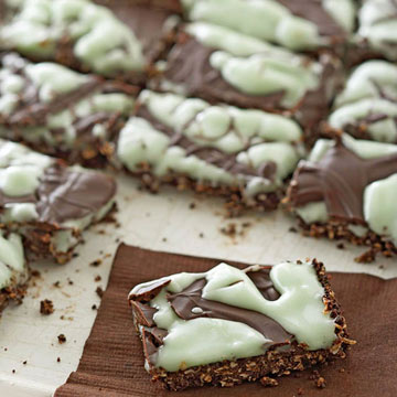 Dark Chocolate Mint Bites