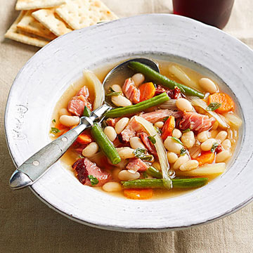 Fennel and Bean Ham-Bone Soup