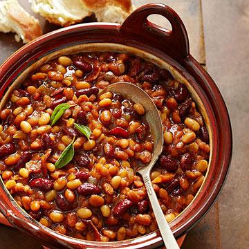 Sassy Baked Beans