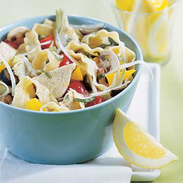 Citrus Tuna Pasta Salad