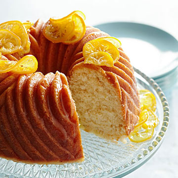 Toasted Fennel-Lemon Cake