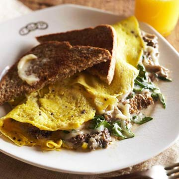Morel Cream Sauce or Omelet Filling