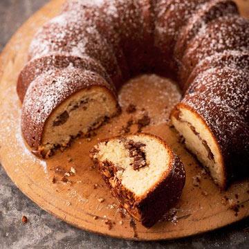 Sour Cream Swirl Coffee Cake