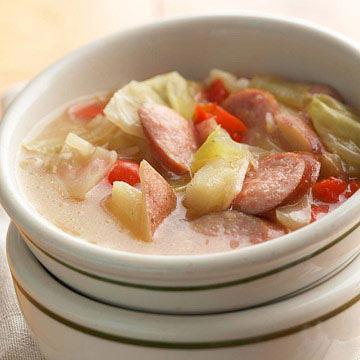 Loaded Bratwurst Stew