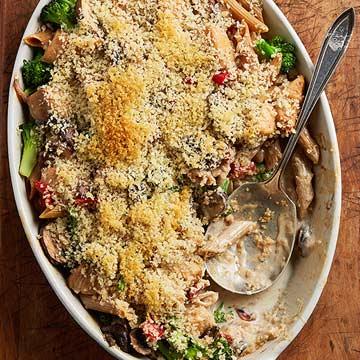Chicken-Broccoli Alfredo Casserole
