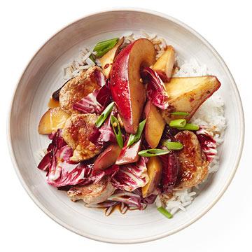 Pear and Pork Stir-Fry