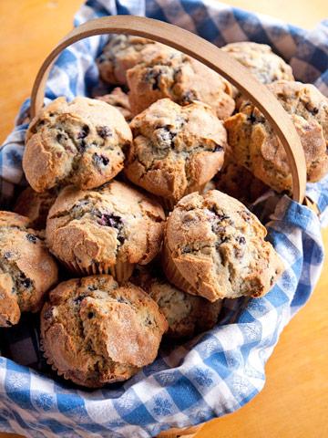 Blueberry Thunder Muffins