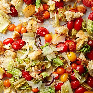 Roasted Panzanella Salad