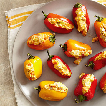 Buffalo Sweet Pepper Poppers