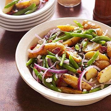 Fingerling Potato Salad with Honey-Thyme Vinaigrette