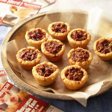 Cranberry Pecan Tarts