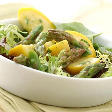 Asparagus-Squash Salad