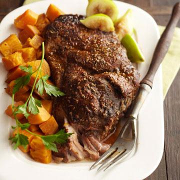 Italian Pork with Sweet Potatoes
