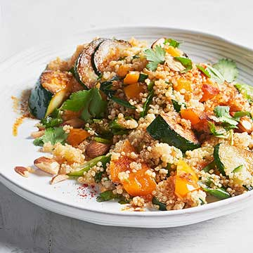 Quinoa with Summer Vegetables Anna Kovel