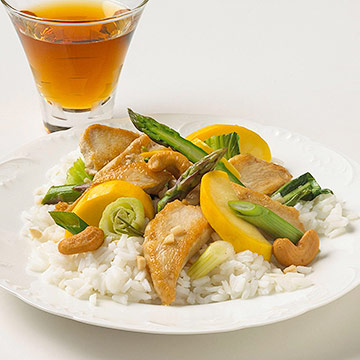 Rosemary-Garlic Stir-Fry