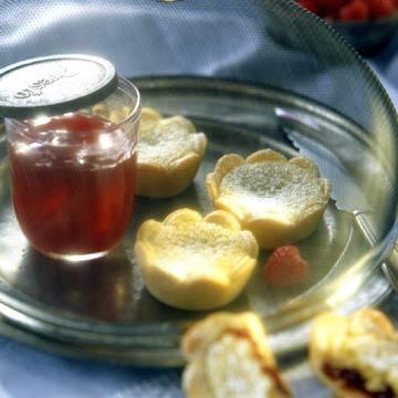 Raspberry-Almond Tarts
