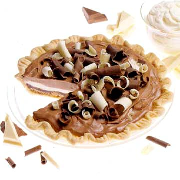 Chocolate Strata Pie