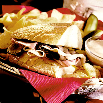 Hot Sub Sandwich