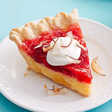 Tropical Strawberry Pie