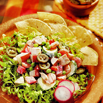Mexican-Style Chicken Salad