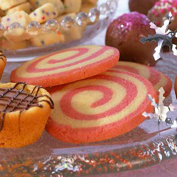 Candy Cane Swirl Cookies