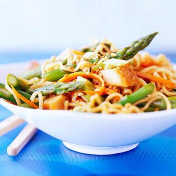 Spring Pork and Noodles