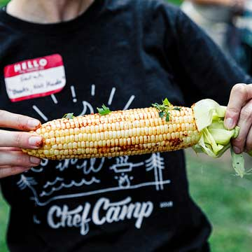 Indian-Spiced Grilled Corn with Butter, Lime and Cilantro