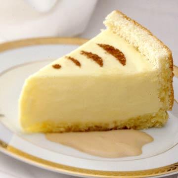 Cream Torte with Espresso Sauce