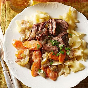 Slow Cooker German-Style Beef Roast