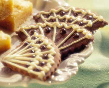 Marvelous Chocolate Marzipan Cookies