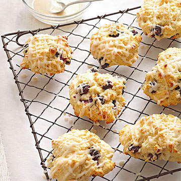 Lemon-Blueberry Biscuits