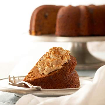 Spiced Sweet Potato Cake With Maple Whipped Cream Cheese