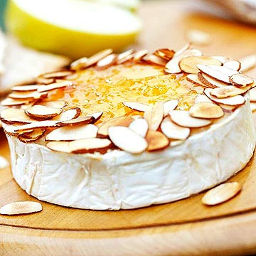 Baked Brie with Fruit