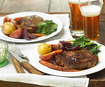 St. Patrick's Day Beef & Veggies