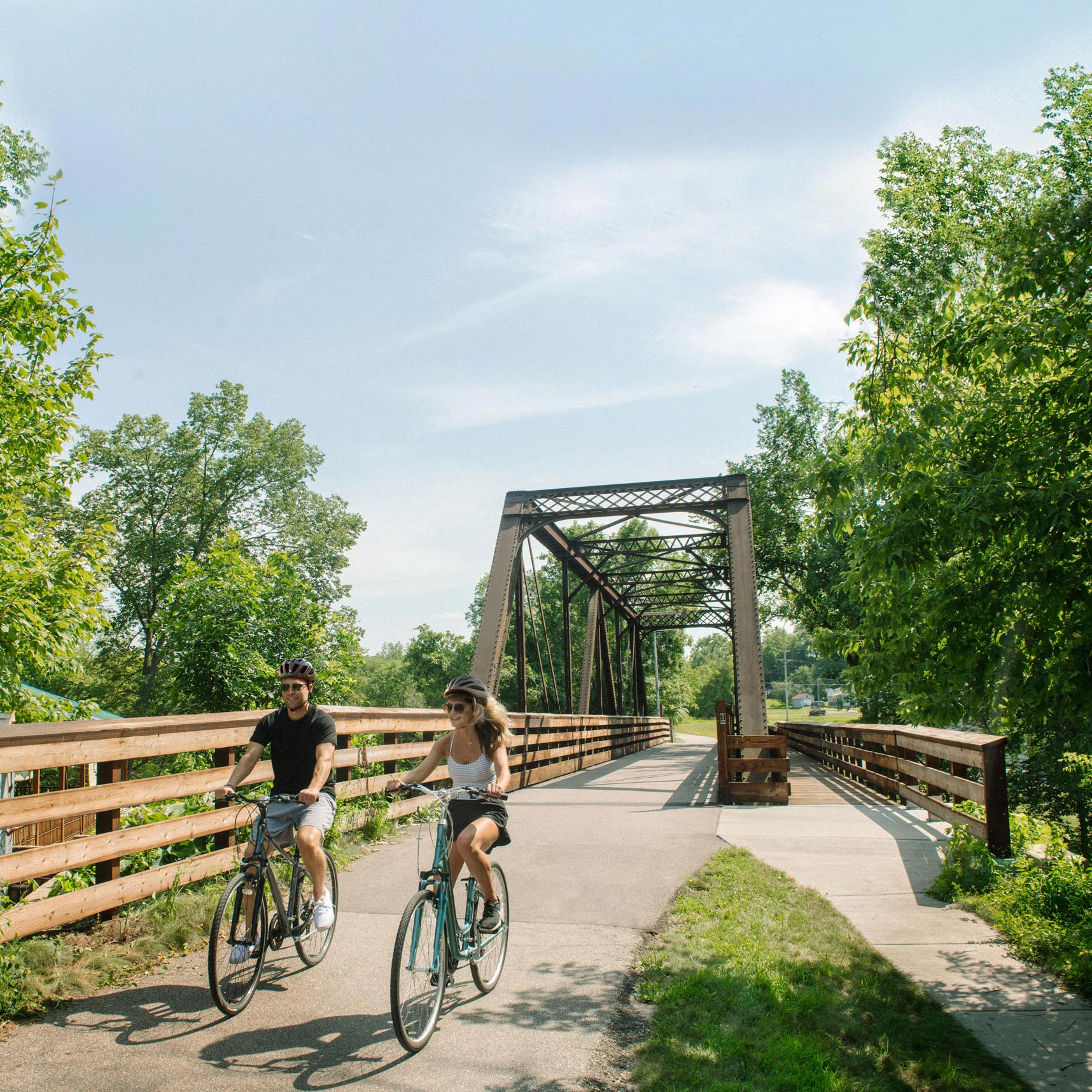 Spring Getaway on the Root River Trail