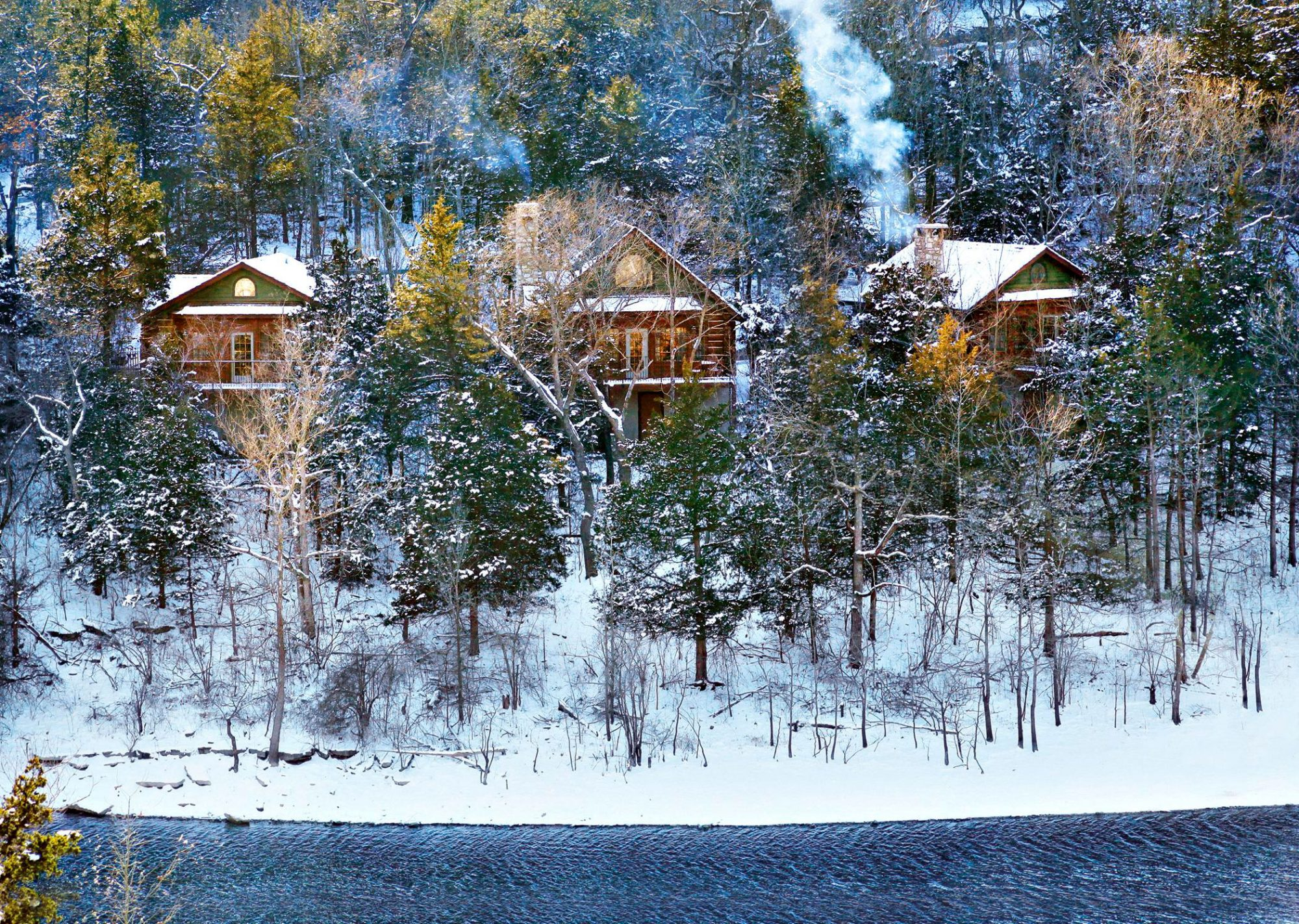 Log Cabins at Big Cedar Lodge